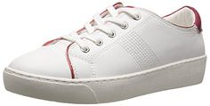 Aldo Womens Cavanna Fashion Sneaker White 385 EU8 B US * Want additional info? Click on the affiliate link Amazon.com on image.