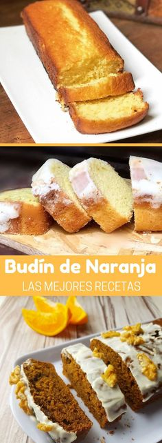 El BUDÍN DE NARANJA tiene un perfume cítrico que invita a disfrutarlo y cuando lo pruebas supera ampliamente tus expectativas #budines #postres #recetasdulces #desayuno #merienda #quiero #quierocakesblog Un Cake, Pan Dulce, Nice Cream, Eat Dessert First, Christmas Desserts, Cakes And More, Sweet Recipes, Bakery, Food And Drink