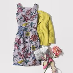 """""""We can't help but fawn(a) over this floral ensemble. Which piece would you pick?"""" - Boden fashion - #BloomMonday #Boden #bloomthroughthegloom"""
