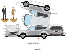 Paper Car Template