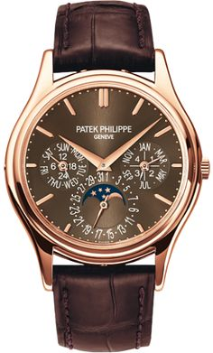 5140R-001 Patek Philippe Grand Complications Mens 18K Rose Gold Watch | WatchesOnNet.com