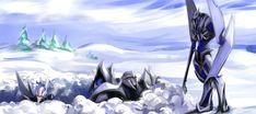 Snow creepy Legolas by MamonnA.deviantart.com on @deviantART. Bahahahaha I can totally see this happening!