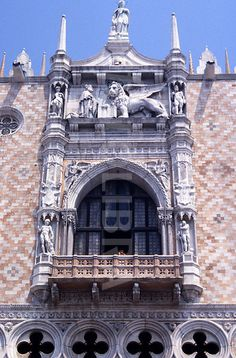 The Doge's Palace Balcony