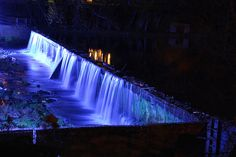 Such a calming waterfall in Helena Alabama.