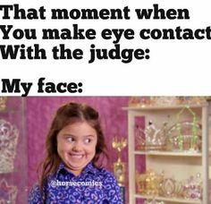 Haha her face