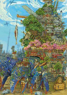 Illustrations by Kazuki Okuda