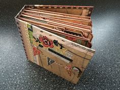 In this tutorial, I go over, step by step, the process I used to create my 6x6½ inch Lifes a Picknick scrapbook mini album. The tutorial is