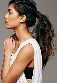 boxer braids | 10 Ways to Make a Fishtail Braid - theFashionSpot
