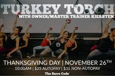 A great way to start your Thanksgiving day!!
