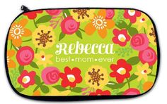 Adorable patterns for Mom, Graduate, or Bridesmaid! Great toiletry or accessories bag makes a perfect personalized gift! www.beaujax.com