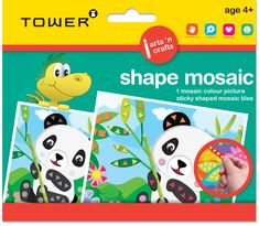 Learn about different shapes by placing each shaped adhesive tile on the correct shape on the picture board. Office Organisation, Picture Boards, Adhesive Tiles, Colorful Pictures, Different Shapes, Mosaic Tiles, Arts And Crafts, Africa, Tower
