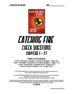 Hunger Games Student Survival Guide Answer Key
