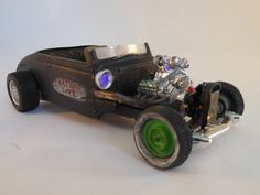Chevrolet Rat Rod 1/24 scale model car in black by classicwrecks, $80.00