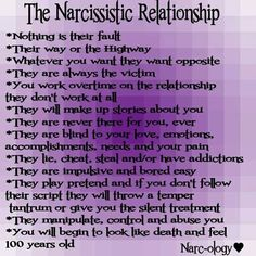 narcissistic boyfriend abuse