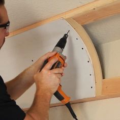 How to install, drywall and finish a cove ceiling. Home Design