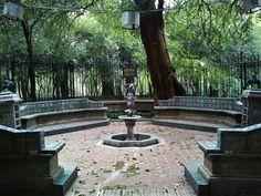 Chapultepec, fuente del Quijote.