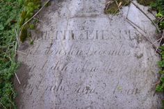 Izbica Kujawska, Najstarszy zachowany nagrobek na cmentarzu z 1871 r. należy do Martina Lieske