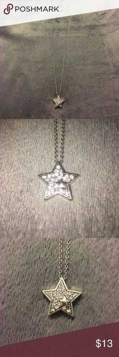 Brighton sparkly star necklace⭐️⭐️⭐️ Sparkly star necklace! From Brighton! It's a super cute necklace and is more of a simple piece! ⭐️⭐️⭐️ Brighton Jewelry Necklaces
