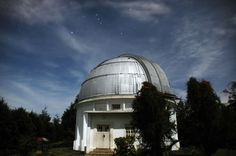 Orion Constellation above Boscha Observatory, Bandung, Indonesia