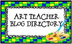 Art Teacher Blog Directory (click on the link box beneath the butterfly).