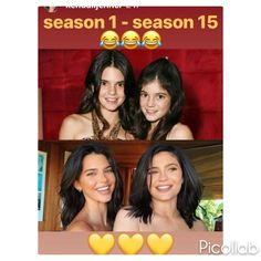 My how they've changed: Kendall shows the differences between Season 1 of KUWTK and Season 15 Kyle Jenner, Kendall And Kylie Jenner, Kim Kardashian, 10 Most Beautiful Women, Jenner Family, Jenner Sisters, Gigi Hadid, Woman Crush, Selfies