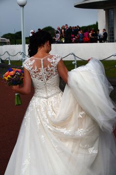 Our Bride Georgina Wearing Ronald Joyce Stunning Photo Real Brides Pinterest