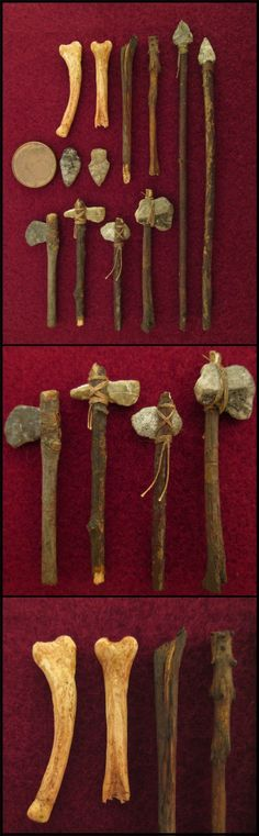 Collection оf Stone age weapons in 1:15 My idea for a new project is a sort of an armoury museum that will include all kinds of historical weapons from different periods and cultures - from m...