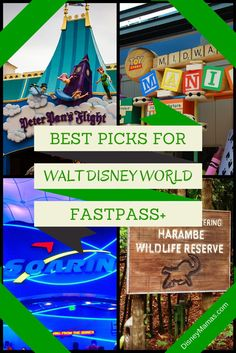 The best FastPass+ choices for each Walt Disney World theme park
