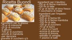 Ricetta Buondì - Buondì recipe Pretzel Bites, Cantaloupe, Bread, Fruit, Biscotti, Food, Italian Cookies, Brot, Essen