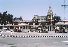 Disneyland entrance, July 1960
