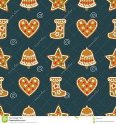 seamless-pattern-christmas-gingerbread-cookies-bell-xmas-stocking-star-heart-winter-holiday-vector-design-illustration-59951445.jpg (1300×1390)