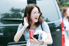PRISTIN ♡ ReNa 레나 (Kang YeBin 강예빈) commute #콩 #예빈 #안경