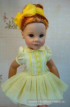 куклы Готц (Gotz ), Ханна, наряд от Лукерьи, lukeria