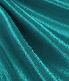 Light Teal Satin Fabric - $3.8 | onlinefabricstore.net