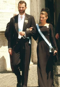 Miss Honoria Glossop:  Crown Prince Felipe and Crown Princess Letizia of Spain