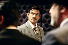 Momento de la serie de television Amar en tiempos Revueltos de Miguel Ortiz