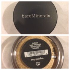 Bare minerals eyeshadow in stay golden