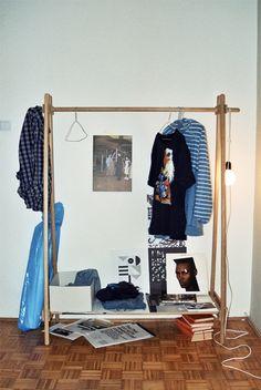 Ana Kras clothes rail