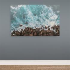 printed ocean 90x140cm