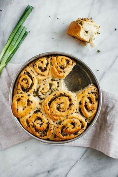 scallion pull-apart bread (my name is yeh)
