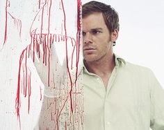 Apparently my type of guy likes blood...Dexter Patrick Bateman Ash