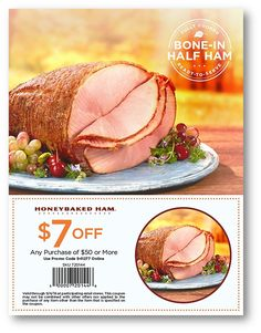 Take the work out of your weekend with this delicious offer from HoneyBaked Ham Douglasville ! Honey Baked Ham, Coupons, Side Dishes, Baking, Fruit, Vegetables, Desserts, Recipes, Food