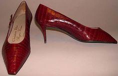 Shoes, Roger Vivier for Dior, 1957.