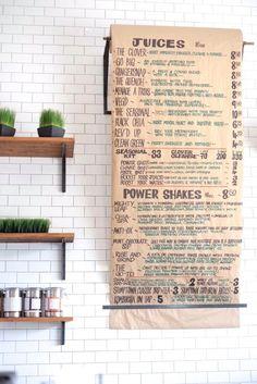 21 Amazing Modern Juice Bar Designed - DIY Interior Ideas for beginners juice Smoothie Bar, Diy Interior, Juice Bar Menu, Juice Bars, Juice Bar Interior, Juice Bar Design, Health Bar, Bowls, Coffee Shop Design