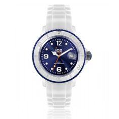Montre ICE-WATCH ICE WHITE bleu foncé - Ice Watch