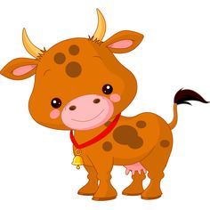 Buy Farm Animals Cow by Dazdraperma on GraphicRiver. Illustration of cute Cow. Cute Baby Cow, Baby Cows, Cute Cows, Happy Cartoon, Cute Cartoon, Farm Animals, Cute Animals, Cow Vector, Vector Clipart