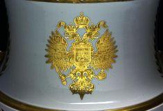 Russian Imperial Porcelain Vase, circa 1873, Imperial Porcelain Factory, St. Petersburg