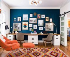 43 Incredible Home Office Cabinet Design Ideas For You – Modern Home Office Design Office Cabinet Design, Home Office Cabinets, Office Interior Design, Office Interiors, Home Interior, Office Designs, Cupboard Design, Bar Designs, Interior Designing