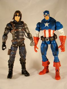 Winter Soldier & Captain America (Hasbro)