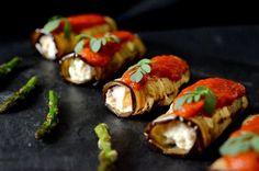 Rollitos de berenjena - Hogar y Cocina